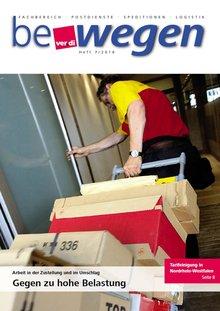 Titelblatt Mitgliedermagazin bewegen 7/2016