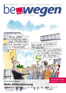 Titelblatt Mitgliedermagazin bewegen 6/2016