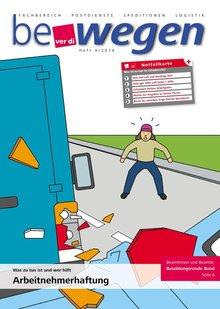 Titelblatt Mitgliedermagazin bewegen 4/2016