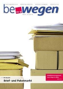 Titelblatt Mitgliedermagazin bewegen 3/2016