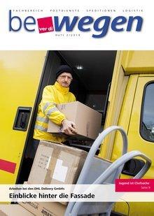 Titelblatt Mitgliedermagazin bewegen 2/2016