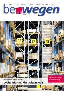 Titelblatt Mitgliedermagazin bewegen 1/2016