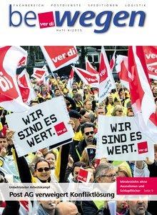 Titelblatt Mitgliedermagazin bewegen 4/2015