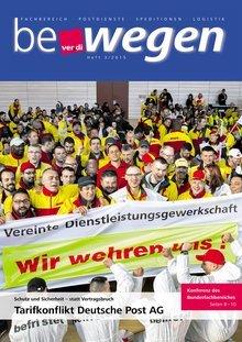 Titelblatt Mitgliedermagazin bewegen 3/2015