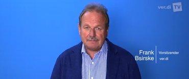 Frank Bsirske: Appell an die Europaabgeordneten auf Youtube