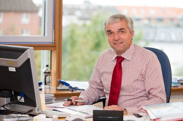 Leiter des Bereichs Prävention bei der BG Verkehr Dr. Klaus Ruff