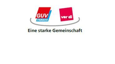 Logo GUV/FAULTA mit Stimmungsbildern