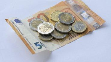 Bild von Geldscheinen